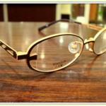 小さめメガネ