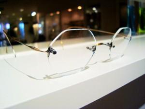 8角形レンズのアンティークメガネ~Lunor classic comfort~