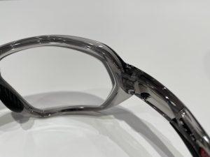 度付き製作事例 OAKLEY PLASMA×純正LENS (調光)